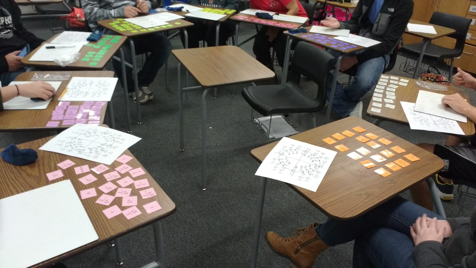 Math Love Exact Values Of Trig Functions Leap Frog Game