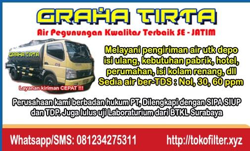 Supplier air pegunungan di Surabaya harga MURAH