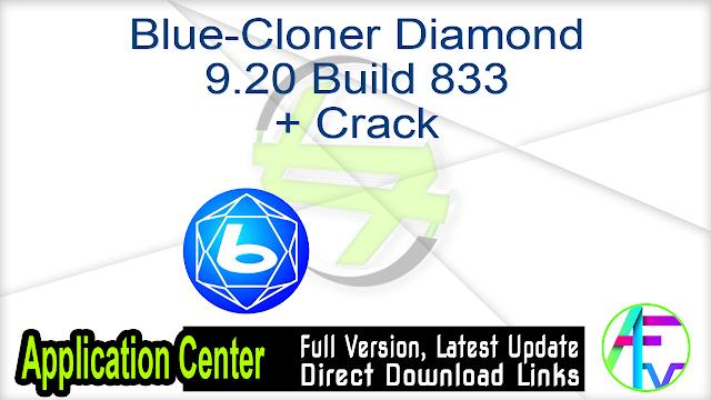Blue-Cloner Diamond 8.50 Build 828 + Crack