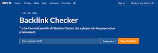 Go To BAcklink Checker