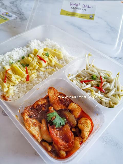 TAPAULAH Food Delivery Penang Blogger Influencer TAPAULAH The TOP Penang