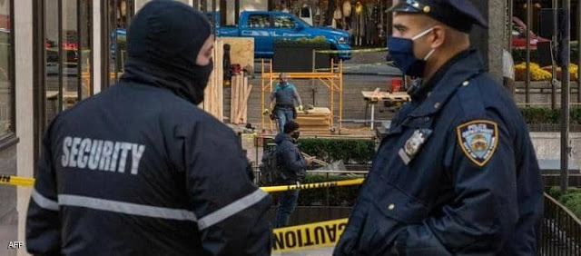 عاجل.. إنتشارالشرطة في نيويورك  بعد إطلاق الناربمحيط الكنيسة
