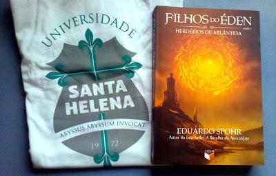 Promo: Filhos do Eden, autografado pelo autor Eduardo Spohr + camiseta especial do livro. 8