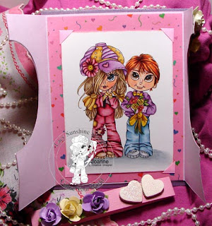 inside rory and mikey flowers for you card