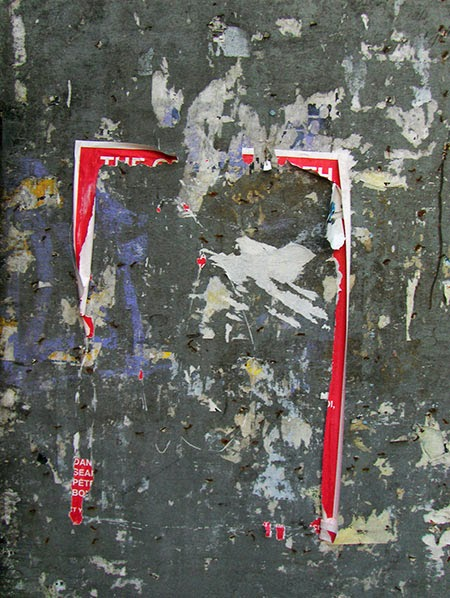 ripped poster, urban photography, contemporary, photo, art