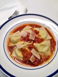 Cheese & Pesto Ravioli