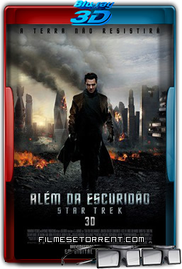 Além da Escuridão Star Trek Torrent 2013 1080p BluRay 3D Half-SBS Dual Áudio