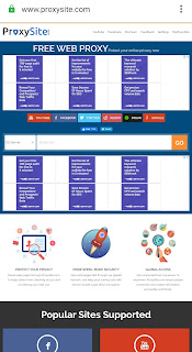 Vpn web proxysite