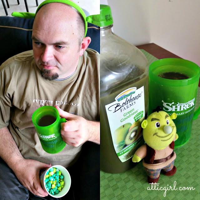 Shrek Swampjuice & Swampcorn