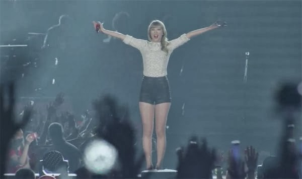 Taylor Swift - The RED Tour concert 2014