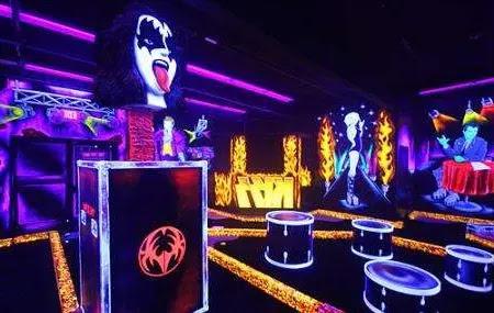 Kiss Monster Mini Golf Las Vegas, USA