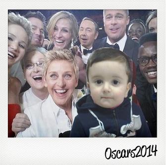 foto oscar 2014 attori con la tua faccia