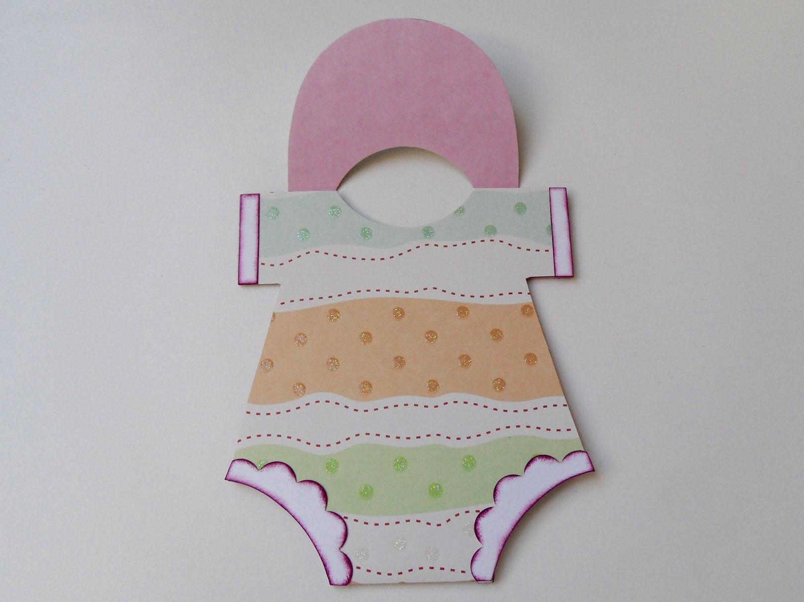 Janasbastelecke Baby Body Karte