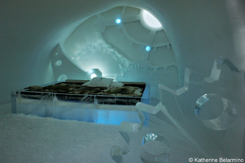 ICEHOTEL Time Piece Art Suite Sweden