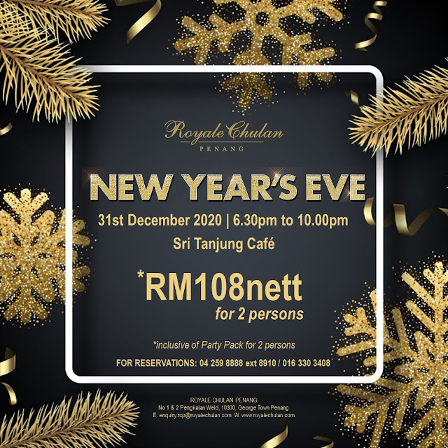 Christmas New Year's Eve Royale Chulan Penang Penang Blogger Influencer Malaysia Blogger