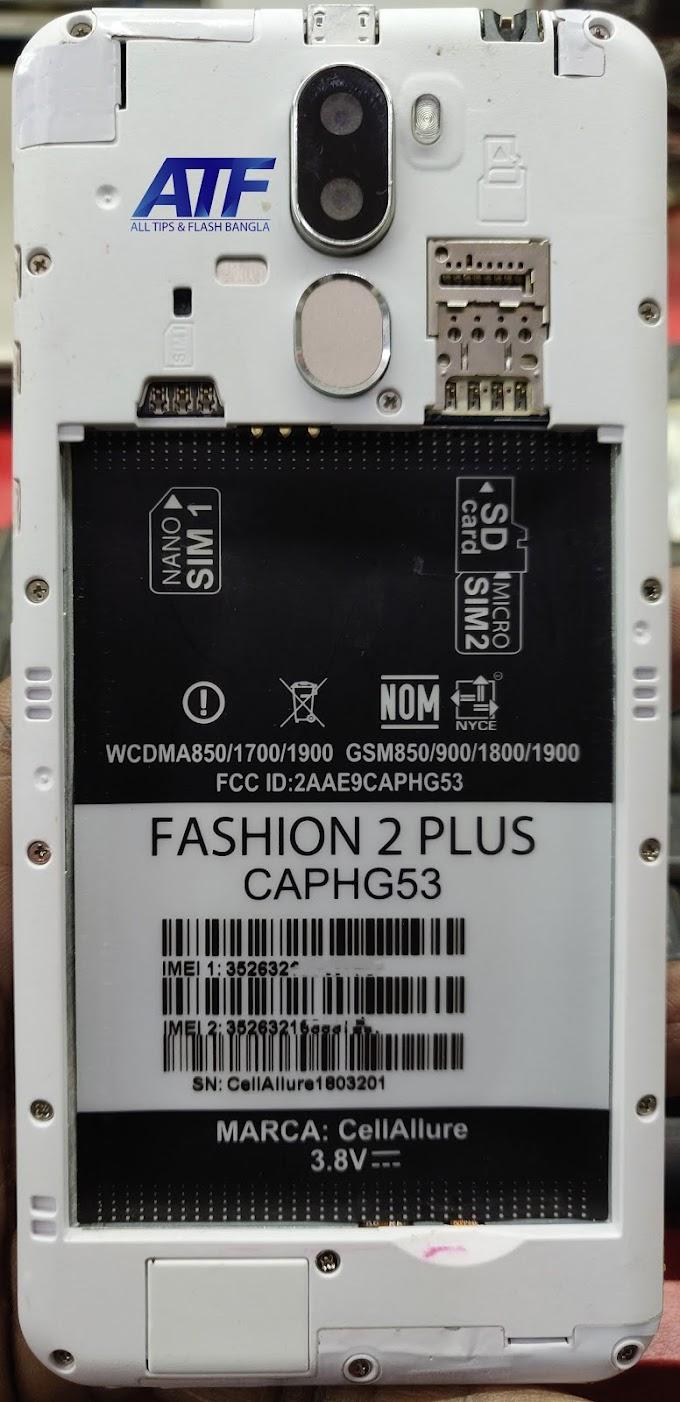 CELLALLURE FASHION 2 PLUS FLASH FILE MT6580 FIRMWARE