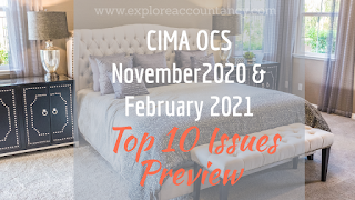 Watch Top 10 issues video for CIMA OCS November 2020 & February 2021 - Amazing Beds