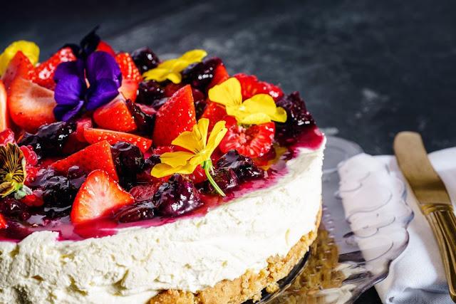 cheesecake alla frutta ricetta