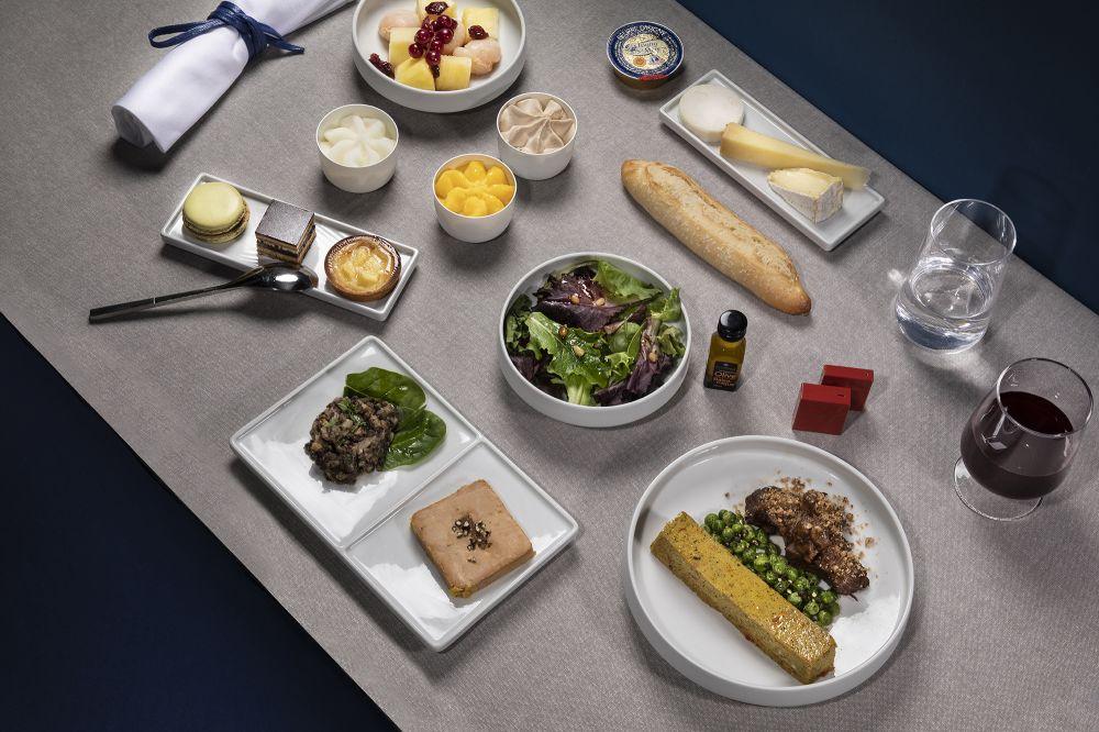 Air France expande oferta de comidas e bebidas em seus voos | É MAIS QUE VOAR
