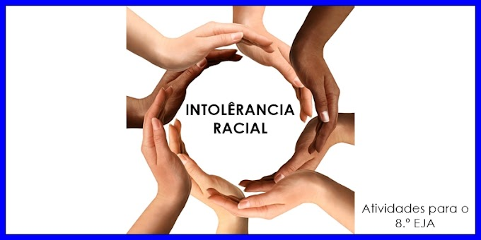 Intolerância Racial - Atividades de Artes para o 8.º EJA