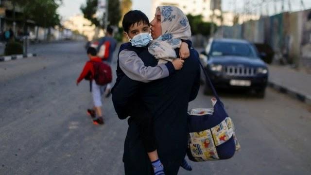 Palestina-Israel: Umat Muslim dunia rayakan Idul Fitri, warga Gaza terancam 'perang dalam skala penuh'