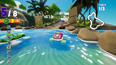 Blaze And The Monster Machines Axle City Racers Game Screenshot 8