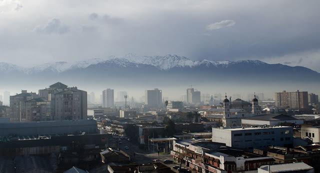 Quando tem neve em Santiago do Chile