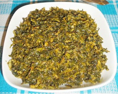 methi sukke is ready to serve