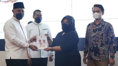 Buku Prestasi 100 Hari Kerja Mahyeldi-Audy Diluncurkan