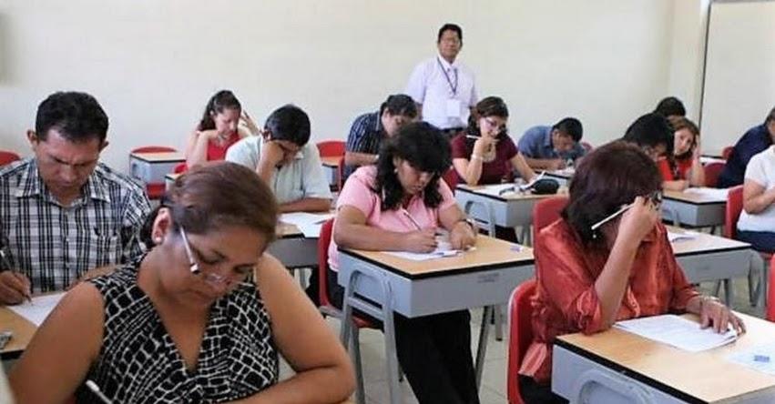 MINEDU: Iniciativa del Congreso para reponer a maestros sin evaluación afecta meritocracia