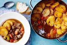 يخنى اللحم بالبطاطس فى الفرنIrish beef stew