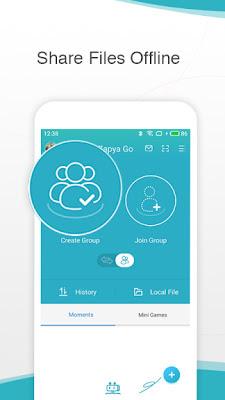 تطبيق Zapya Go - تبادل الملفات بين الأجهزة بطريقة سريعة