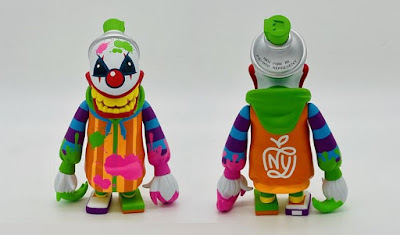 Mad Spraycan Mutant Creative Clown Edition Vinyl Figure by RedGuardian x MAD x Martian Toys