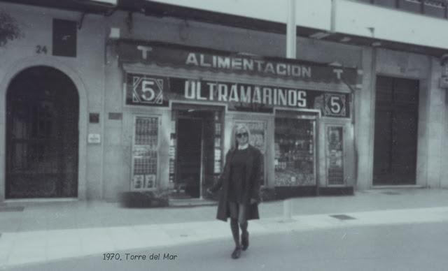 Alejandra Colomera en una foto en blanco y negro representando los 70