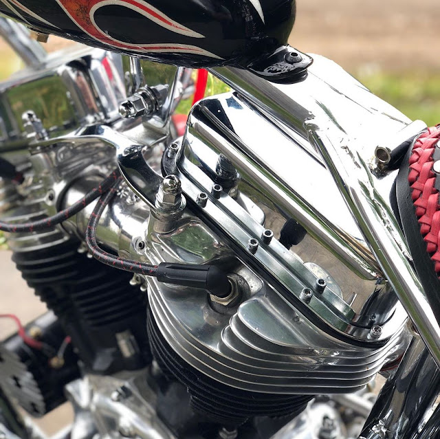 Harley Davidson Panhead 1953 By Vanilla Cycles Hell Kustom
