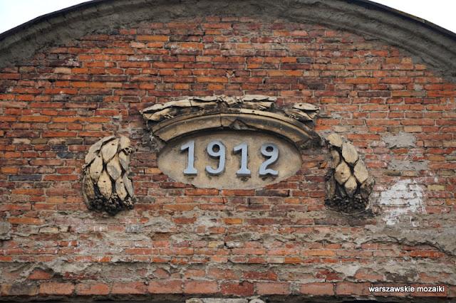 1912 Warszawa Warsaw kamienice architektura Praga Północ