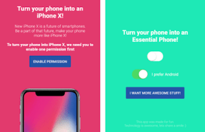 How To Make Android Phone Looks Like iPhone X