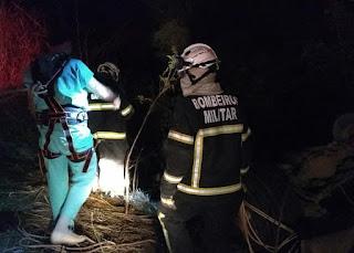 Veja como foi o trabalho do Corpo de Bombeiros  no resgate ás vitimas do acidente na região de Wanderley