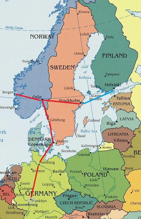 Vamos De Trem Opcao De Roteiro Na Europa Escandinavia