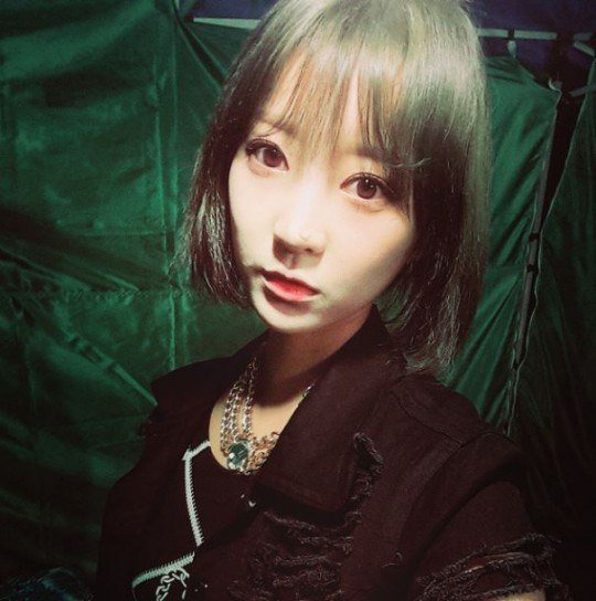 [NB] EXID's Hyelin Changes Up Her Hair Style
