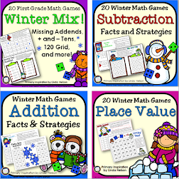One Page Math Games