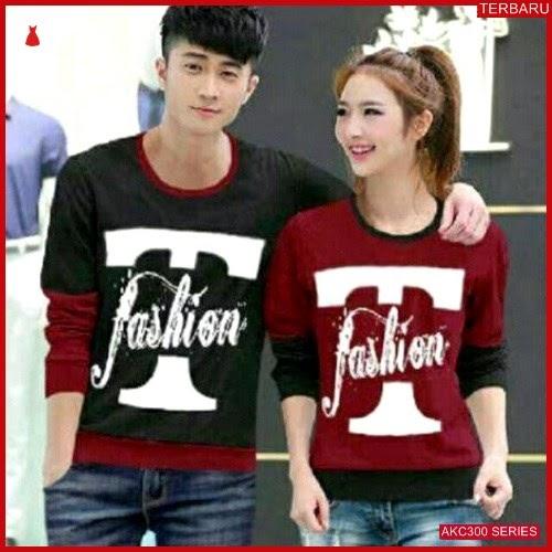 AKC300S43 Sweater Couple T Anak 300S43 Pasangan Fashion BMGShop