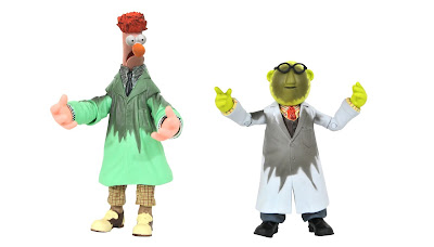San Diego Comic-Con 2021 Exclusive The Muppets Lab Accident Bunsen & Beaker Deluxe Action Figure Box Set by Diamond Select Toys