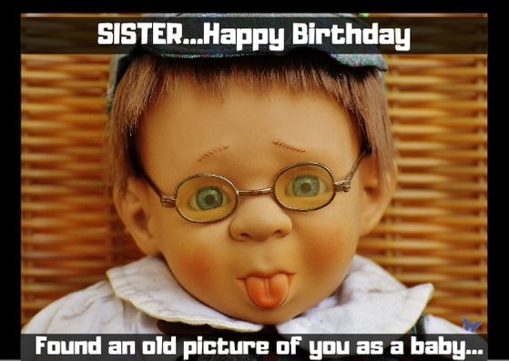 Birthday memes for sister