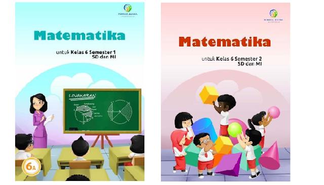 Buku Matematika Kelas 6 Kurikulum 2013 Semester 1 dan 2