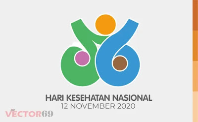 HKN (Hari Kesehatan Nasional) 2020 Logo - Download Vector File AI (Adobe Illustrator)