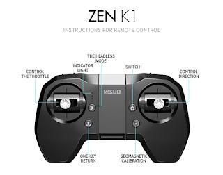 Spesifikasi Drone Visuo Zen K1 - OmahDrones