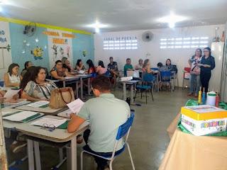 Em Picuí, educadores participam de formação educacional do soma