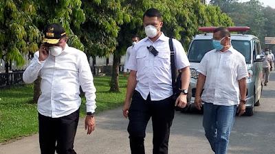 Tangani Corona, Gubernur Sumut Edy Rahmayadi sambangi RS dr. GL. Tobing PTPN 2 Tanjung Morawa