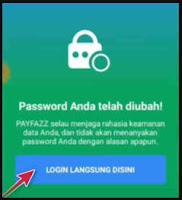 solusi lupa password payfazz